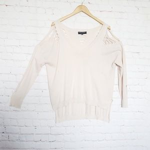 Central Park West Sweaters - Central Park West destroyed sweater